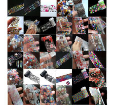 Transfer Foil For Nail Art Decoration Design, Holo, Flowers, Feathers, UK Seller
