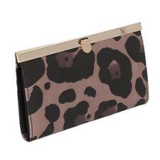 Murval Accordion Style Leopard Satin Wallet (SALE!)