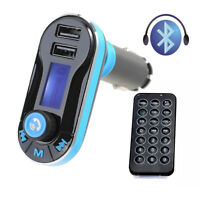 Auto KFZ Bluetooth MP3 Muzik Player LCD FM Transmitter SD/USB Freisprechanlage