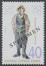 Specimen, Cyprus Sc854 Traditional Costume, Plain Festive Male, Messaoria