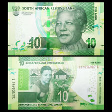 South Africa 10 Rand, 2018, P- NEW, NEW SIGNATURE, 100th COMM. UNC