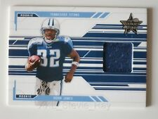 "ADAM ""Pacman"" JONES Leaf R&S 2005 ROOKIE Jersey Card #'d 33/750 TENNESSEE TITANS"