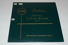 Beethoven~Septet E Flat Major~Pro Musica Chamber Group~Vox PL 6460~FAST SHIPPING