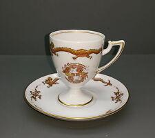 Königl. Pr. Tettau - Tazza da Caffè + Inferiore - Iphigenie - Royal Dragon