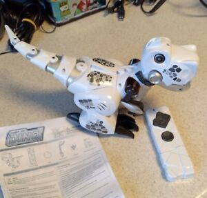 Silverlit Robot Train my White Dino Robot w Remote - Ages 5 +
