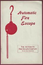 Automatic Fire Escape, Tilton, New Hampshire Sales Booklet, c. 1920