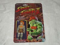 Super7 Capcom Street Fighter II Glow in the Dark GID Blanka ReAction 3 3/4""