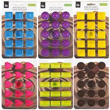 6 Assorted Silicone Chocolate Moulds Candy Unique Shape Jelly Ice Cube Mold Tray