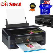 Epson Wireless Inkjet All-In-One Color Photo Scanner Copier Printer Compact ,New