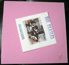 The Beatles Broadcasts TMOQ Dark Pink Vinyl VG++