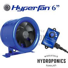 """Hyper Fan Digital Mixed Flow 6"""" Inline Duct Fan - 315 CFM with speed controller"""