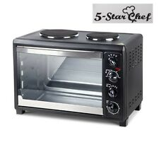 5 StarChef Convection Oven Electric 45L Large Bake Benchtop Hot Plate Rotisserie