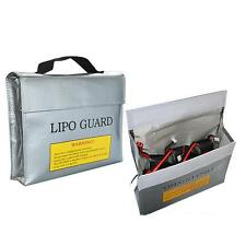2X LiPo Safe Battery Guard Charging Protection Bag Explosion Proof 240X65X180mm