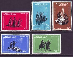 Anguilla 1968 SC 44-48 MNH Set Christmas