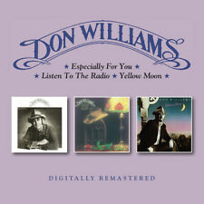 Don Williams Especially For You/Listen To the Radio/Yellow Moon Remaster 2CD NEW
