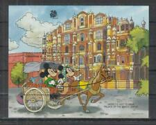 Grenadines of St. Vincent DISNEY'S MICKEY VISIT TO INDIA Disney Stamp S/S (D698)