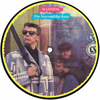 "EX/EX Madness The Sun And The Rain 7"" VINYL 45 Picture Pic Disc Ska"