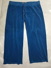 Juicy Couture Women Pants Blue Capri Medium