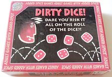 Vintage 1997 Dirty Dice Adult Party Game Complete