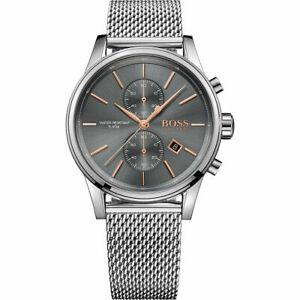 Hugo Boss Jet 1513440 Herren Chronograph Uhr Armbanduhr NEU