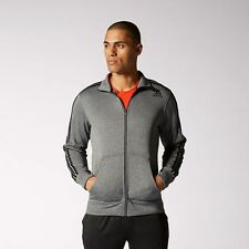 NEW Men's Adidas Original Ultimate Track Jacket Color: Gray Size: X-Large