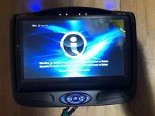 Invision DVD Headrest Monitor B SSLM7BB1 factory oem slimline 7 SL7 rear system