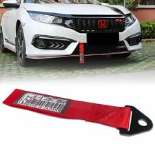Universal Red DOMO Made in Japan Decal Towing Hook Tow Ropes Bumper Trailer