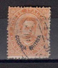 ERITREA 1893 Umberto I Soprastampato 20c USATO (EN)