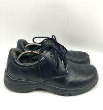 Dansko Mens Walker Lace Up Leather Oxford Dress Shoes Black Size EU 44 US 10
