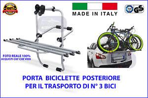 Porta Bici Posteriore Porta Biciclette per AUDI Q5 dal 2014>2016 omologato auto
