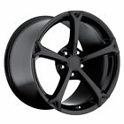 Grand Sport Corvette Wheels Gloss Black 19x12
