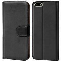 Handy Hülle Huawei Y5 2018 Case Schutz Tasche Cover Wallet Flip Etui Bookcase