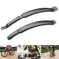 Radfahren Fahrrad Kunststoff MTB Kotflügel Schnellverschluss vorne/hinten