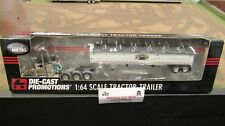 DCP#32884 BULL IT ANGUS PETE 379 SEMI CAB TRUCK - WILSON GRAIN TRAILER 1:64/FC