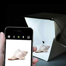 """Backdrop Light Room Cube Box Mini Photo Studio 9"""" Photography Lighting Tent Kit"""