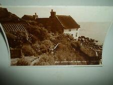 Runswick Bay, Thatched Cottage Judges Ltd Vintage RP Postcard 24813 (Nr Whitby)