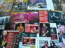 PANTERA - MAGAZINE POSTER/CUTTINGS COLLECTION (REF X12B)