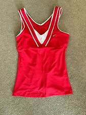 NIKE DRI FIT WOMENS PINK TOP IN MEDIUM VERY GOOD CONDITION