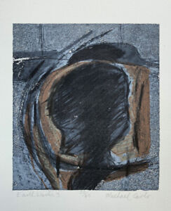 """MICHAEL CARLO b1945 Limited Edition LITHOGRAPH """"Earth Works 3"""" Suffolk ed 23/45"""