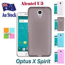 For Optus X Spirit / Alcatel U5 Soft Slim TPU Gel TPU Case Cover