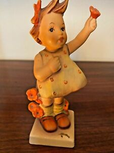 """EXTREMELY RARE Hummel """"SPRING CHEER"""" #72 figurine, Goebel - 5.25"""" tall"""