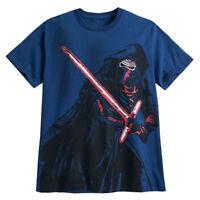 Disney Store Star Wars Kylo Ren Force Awakens Mens T Shirt Plus Size 3XL 4XL New
