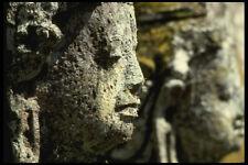 202050 Stone Carvings At Goa Gajah A4 Photo Print
