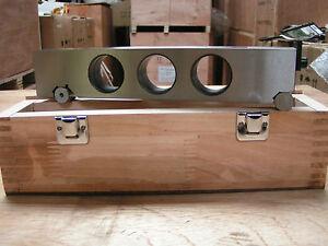 High Precision 100mm Steel Sine Bar by Amadeal, London