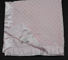 Girls Bearington Baby Pink Minky Dot Blanket Lovey