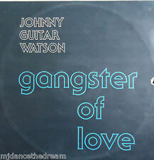 "JOHNNY GUITAR WATSON - Gangster Of Love ~ 12"" Single PS"