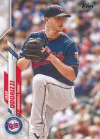 Jake Odorizzi 2020 Topps Series 2 #409 Twins Card