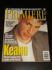 PREMIERE magazine UK #20, 1994, Keanu Reeves, Paul Newman, Jack Nicholson RARE