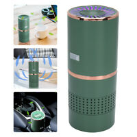 Green Air Purifier USB Rechargeable Small Space Clear Odor Mini Ozone Generator
