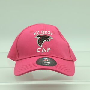 Atlanta Falcons Official NFL Apparel Baby Infant Girls (1-2) OSFM Pink Hat Cap
